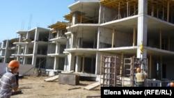 Одна из строительных площадок в Казахстане.
