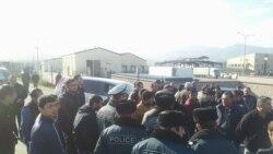 ԱՊՊԱ գործակալները կրկին փակել են Բագրատաշենի մաքսակետ տանող ճանապարհը