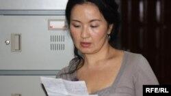 Жайнагуль Айдархан, жена Арона Атабека. Алматы, 4 июня 2010 года.