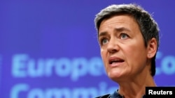 European Competition Commissioner Margrethe Vestager (file photo)