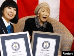 خانم تاناکا با ۱۱۶ سال سن در سال گذشته میلادی کهنسالترین شهروند و زن جهان در کتاب رکوردهای گینس بود.