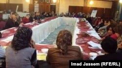 """إجتماع لناشطات للإتفاق على كتابة """"تقرير الظل"""" الخاص بأوضاع المرأة في العراق"""