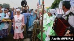 Татар Каргалыда үктән Сабантуйга 10 мең кеше килде