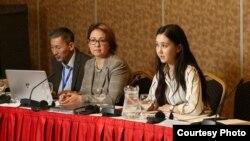 Конференция по случаю окончания проекта ЕС «Продвижение диалога для предотвращения разногласий по вопросам, связанным с охраной окружающей среды в Центральной Азии». Алматы, 22 ноября 2017 года