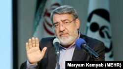 Iran -- Abdolreza Rahmani Fazli, an Iranian interior minister in a meeting on Monday, August 8, 2016.