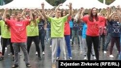 Молодежный фестиваль в Сараево. Сентябрь 2014 года