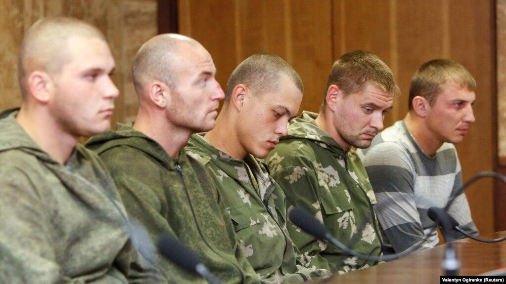 Русские десантники попали в плен на украине видео
