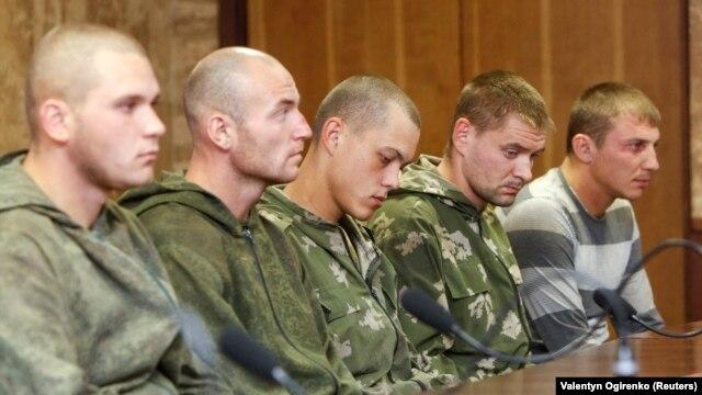 Костромські десантники, затримані наприкінці серпня в Україні