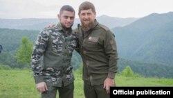"""Грозный"" телевизионан директор Дудаев Ахьмад а, Кадыров Рамзан а"