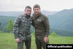 Ахмед Дудаев и глава Чечни Рамзан Кадыров