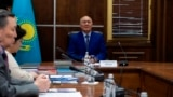 Kazakhstan - Zhumatai Aliev at language exam