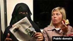 مسلمة في اوروبا