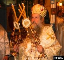 Епископ Амвросий приехал в Южную Осетию из Греции
