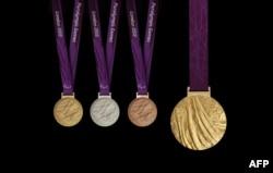2012 Olimpiya Oyunlarının medalları