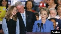 Президенттикке талапкер Хиллари Клинтон.