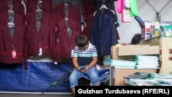 Ребенок на рынке. 2018 год