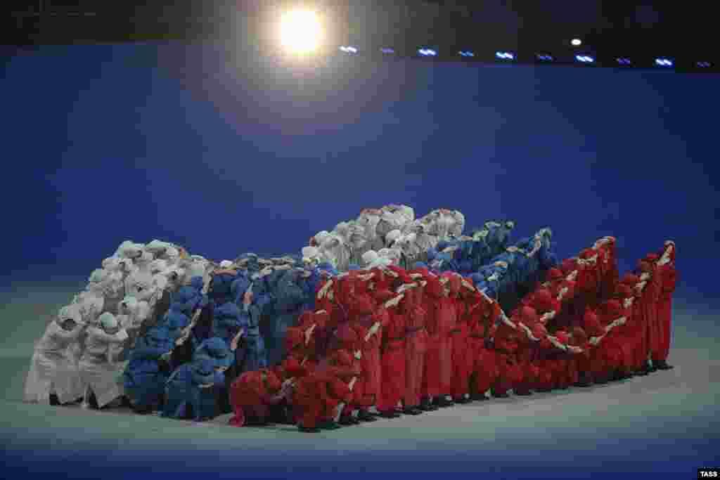 Открытие XI зимних Паралимпийских Игр в Сочи