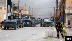 قوات أمن في مركز تكريت