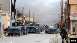 Forcat irakiane të sigurisë në Tikrit më 2015
