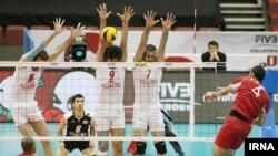 تیم والیبال ایران در سه ست کامل توانست بر تیم مصر پیروز شود.