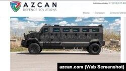 AZCAN Huron APC hərbi maşınları