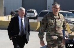 Джеймс Мэттис и генерал-лейтенант Стивен Таундсенд в Багдаде