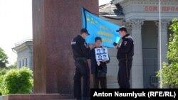 Задержание Сервера Караметова 18 мая