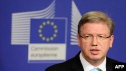 член Еврокомиссии Штефан Фюле.