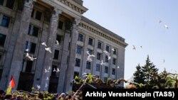Акция памяти в Одессе, архивное фото