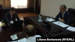 Premierul Iurie Leancă la ședința guvernului