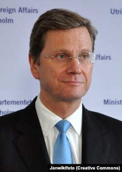 Guido Westerwelle, ministrul german de externe