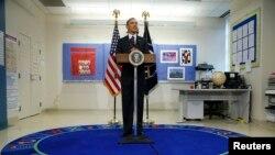 Президент США Барак Обама. Вашингтон, 4 марта 2014 года.