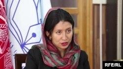 شهرزاد اکبر رئیس کمیسیون مستقل حقوق بشر