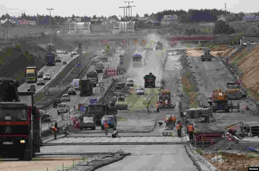 Реконструкция стадиона в Гданьске, 2011