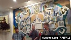 Андрэй Хадановіч, Сяргей Жадан, Віталь Латыш.