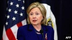 Госсекретарь США Хиллари Клинтон (архив)