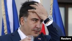 На удар и грузијскиот претседател Михаел Саакашвили