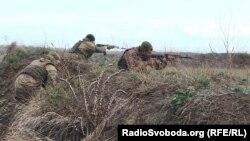 Українські військові вчаться вражати цілі максимально швидко