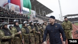 Кіраўнік Чачні Рамзан Кадыраў
