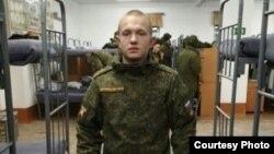 Погибший солдат Евгений Кувайцев