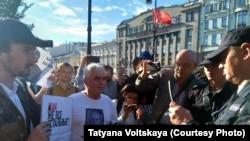 Акция в Санкт-Петербурге, 23 июня 2019 года