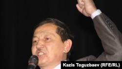 Курмангазы Рахметов, участник Декабрьских событий 1986 года. Алматы, 17 декабря 2012 года.