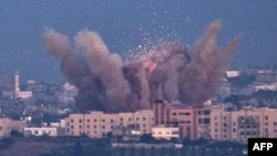 Pamje e një sulmi të mëparshëm të ushtrisë izraelite në Rripin e Gazës