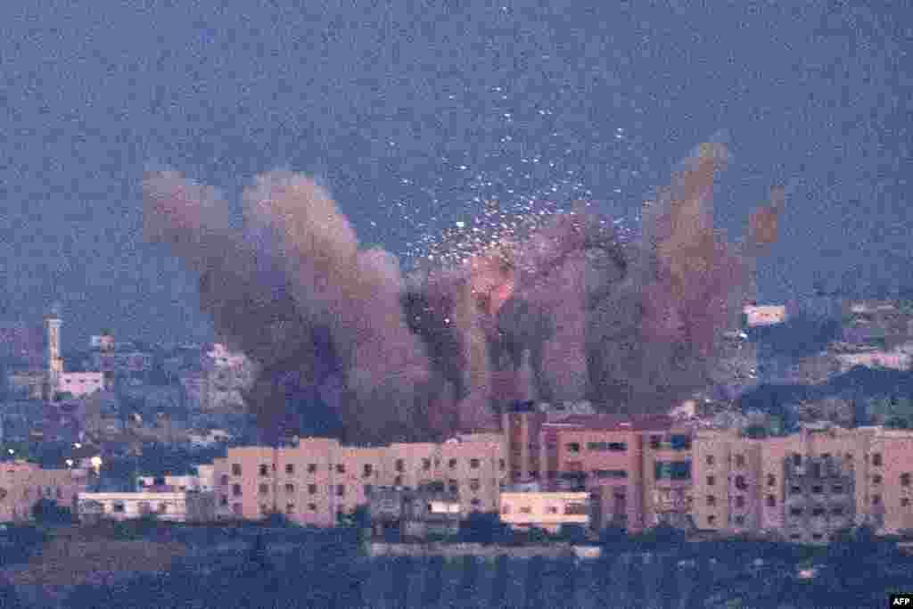 Іноді результар ізраїльських ударів буває такий, фото на півночі Смуги Гази 15 листопада 2012 року
