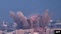 حمله هوایی به غزه