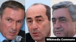 Petrosyan, Köçəryan və Sarkisyan