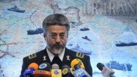 Iranian Navy commander Habibollah Sayari