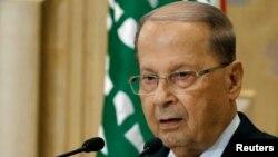 میشل عون رئیس جمهوری لبنان
