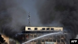 The site of the current talks, Kabul's Serena Hotel, was the scene of a militant attack in January.