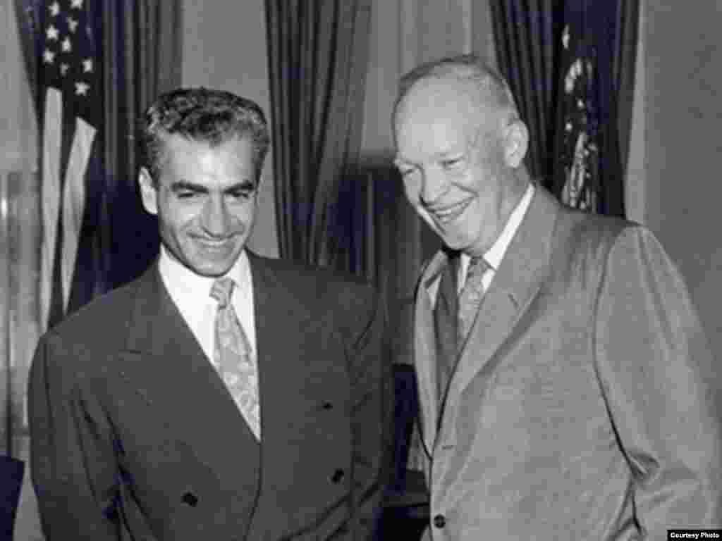 دوایت آیزنهاور و محمدرضا پهلوی